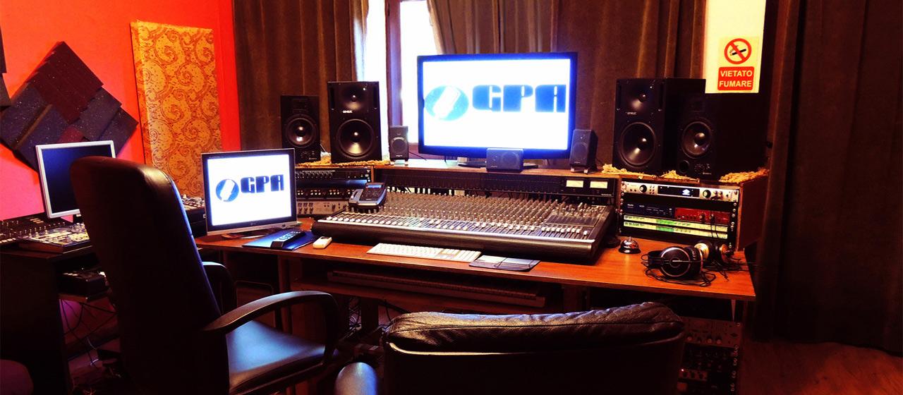 GPA STUDIO - Studio di Registrazione Palermo