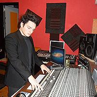 Gabriele Plescia fonico Sound Engineer Palermo